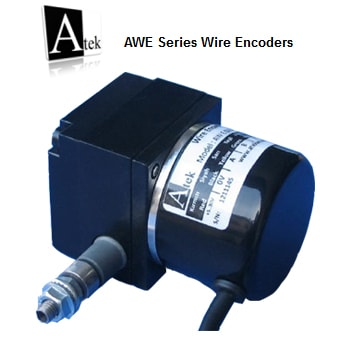 Atek Sensor AWE110 Wire Encoders - وایر اینکودر آتک سنسور Atek Sensor مدل AWE110