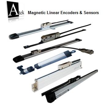 Atek Sensor Magnetic Linear Encoders Sensors 1 - خط کش های دیجیتال آتک سنسور Atek Sensor