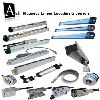 Atek Sensor Magnetic Linear Encoders Sensors - خط کش های دیجیتال آتک سنسور Atek Sensor