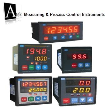 Atek Sensor Measuring Process Control Instruments - کنترلر ها و نمایشگر های آتک سنسور Atek Sensor