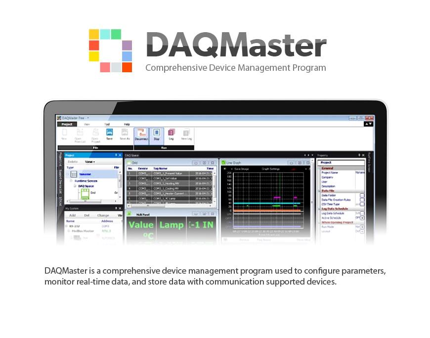 Autonics DAQMaster 1 - معرفی نرم افزار DAQMaster آتونیکس