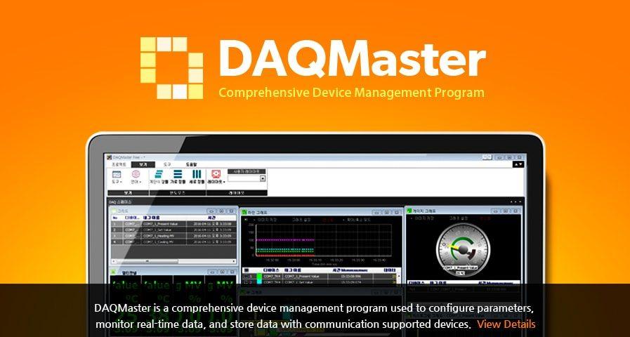 Autonics DAQMaster 897x480 - معرفی نرم افزار DAQMaster آتونیکس