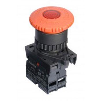 Autonics S2ER E4RBL - پوش باتن یا کنترل سوئیچ آتونیکس مدل S2ER-E4RBL