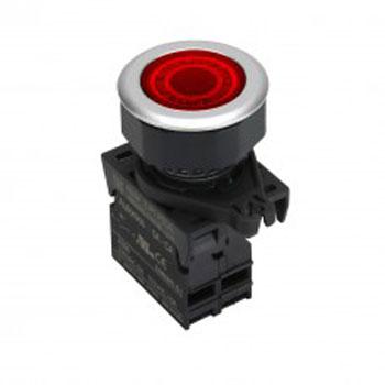Autonics S3PF P3RBL - پوش باتن یا کنترل سوئیچ آتونیکس مدل S3PF-P3RBL