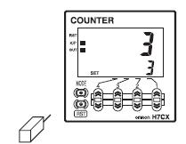 Counter 7 - آموزش شمارش اجسام با کانتر یا شمارنده دیجیتال به همراه سنسور