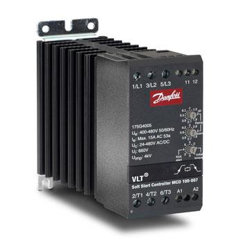 Danfoss Compact Starter MCD 100 - سافت استارتر آنالوگ دانفوس مدل MCD 100