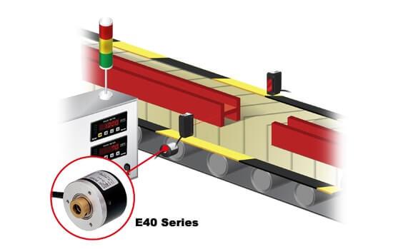 E40 SERIES 1 - روتاری اینکودرهای آتونیکس سری E40