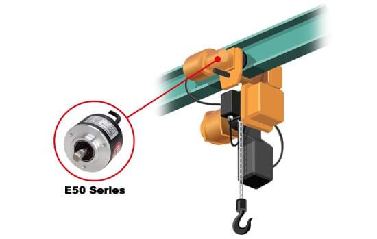 E50S E50S C - روتاری اینکودرهای آتونیکس سری E50S-C
