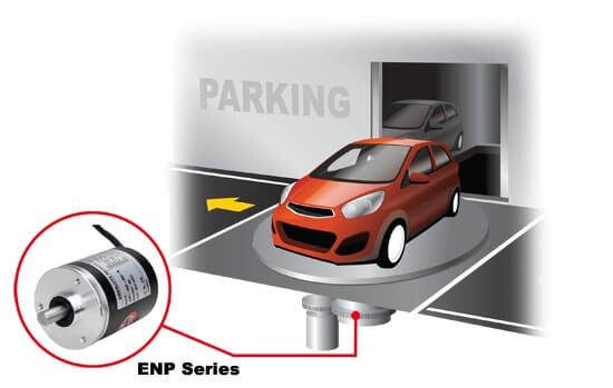 ENP SERIES 1 - روتاری اینکودرهای آتونیکس سری ENP
