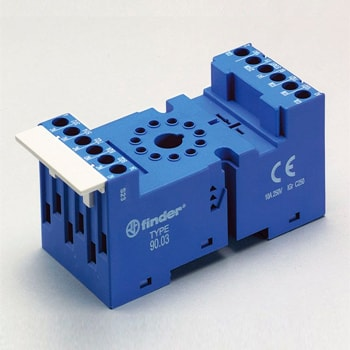 Finder 90 Series Sockets for 60 88 series relays - سوکت فیندر Finder سری 90