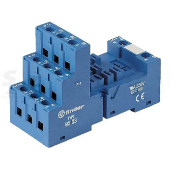 Finder 92 Series Sockets for 62 series relays - سوکت فیندر Finder سری 92