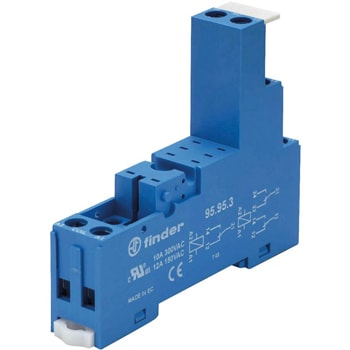 Finder 95 Series Sockets for 40 41 43 44 series relays - سوکت فیندر Finder سری 95