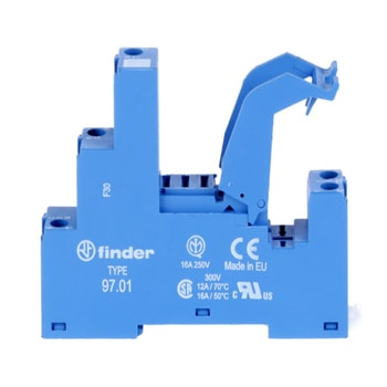 Finder 97 Series Sockets for 46 series relays 1 - سوکت فیندر Finder سری 97