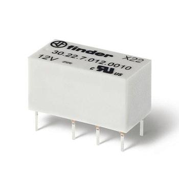 Finder Low profile electromechanical PCB relays 41 Series - رله مشخصات پایین PCB الکترومکانیکی و حالت جامد فیندر Finder سری 41