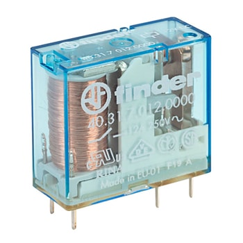 Finder Miniature PCB plug in Miniature PCB relay 40 Series - رله PCB مینیاتوری و پلاگین فیندر Finder سری 40