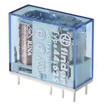 Finder Miniature PCB relay 44 Series - رله PCB مینیاتوری فیندر Finder سری 44