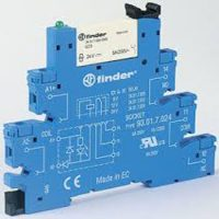 Finder Relay Interface Modules 38 Series 200x200 - رله ماژول رابط فیندر Finder سری 38