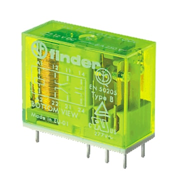 Finder Safety relay EN 50205 50 Series - رله ایمنی فیندر Finder سری 50
