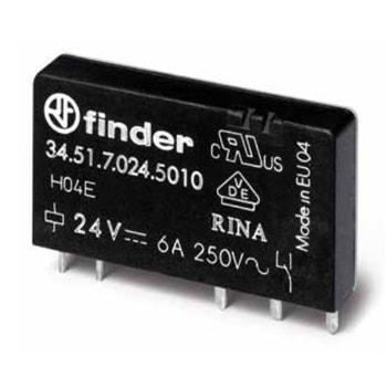 Finder Ultra slim Solid State PCB relays 34 Series - رله PCB حالت جامد و الکترومکانیکی فوق العاده باریک فیندر Finder سری 34