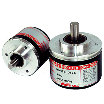 HANYOUNG Rotary encoder HE Shaft type - روتاری اینکودر هانیانگ مدل (HE(Shaft type