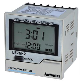 LE7M 2 Series - تایمرهای آتونیکس سری LE7M-2