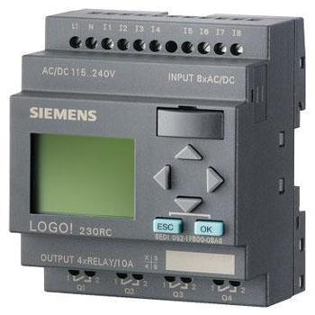 LOGO PLC SIEMENS 1 - مینی LOGO PLC (لوگو زیمنس)