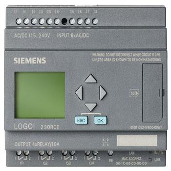 LOGO PLC SIEMENS 2 - مینی LOGO PLC (لوگو زیمنس)