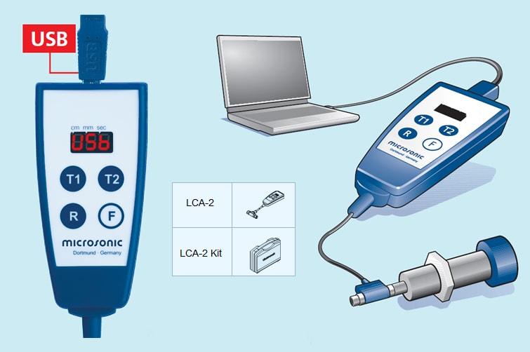 Microsonic Link Control Adapter LCA 2 Ultrasonic Sensors 1 - آداپتور لینک کنترل سنسورهای التراسونیک مدل LCA-2 میکروسونیک Microsonic