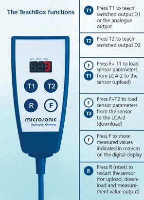 Microsonic Link Control Adapter LCA 2 Ultrasonic Sensors 3 - آداپتور لینک کنترل سنسورهای التراسونیک مدل LCA-2 میکروسونیک Microsonic