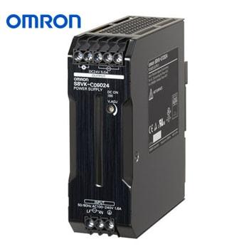 OMRON Power Supply Book Type DIN rail Model S8VK C06024 - منبع تغذیه 24 ولت 2.5A آمپر 60 وات کتابی (ریلی) امرن OMRON مدل S8VK-C06024