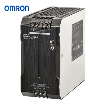 OMRON Power Supply Book Type DIN rail Model S8VK C24024 - منبع تغذیه 24 ولت 10A آمپر 240 وات کتابی (ریلی) امرن OMRON مدل S8VK-C24024