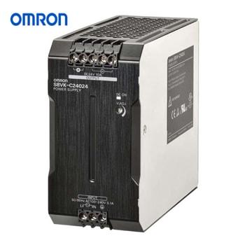 OMRON Power Supply Book Type DIN rail Model S8VK C24024 - منبع تغذیه 24 ولت 10A آمپر 240 وات کتابی (ریلی) امرن OMRON مدل S8VK-C24024