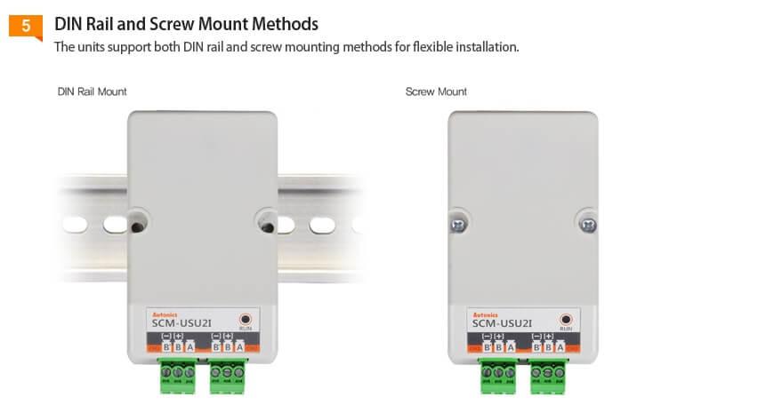 SCM USU2I 6 - مبدل ارتباطی آتونیکس مدل SCM-USU2I