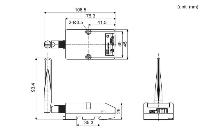 SCM WF48 10 - مبدل ارتباطی آتونیکس مدل SCM-WF48