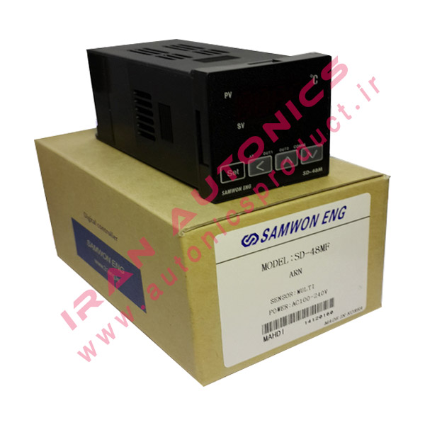 SD 48MF 1 - کنترلر دما ساموان Samwon مدل SD-48MF