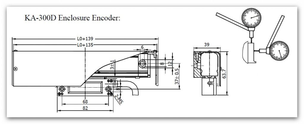 SINO KA300 13 1024x419 - خط کش دیجیتال سینو SINO سری KA300