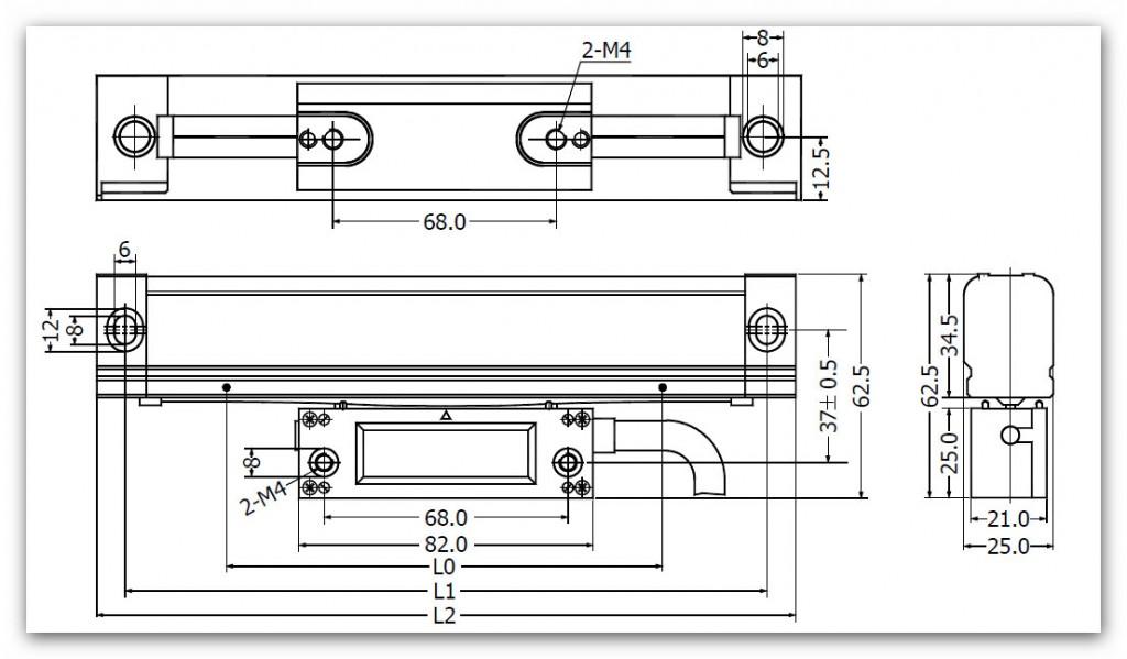 SINO KA300 7 1024x599 - خط کش دیجیتال سینو SINO سری KA300
