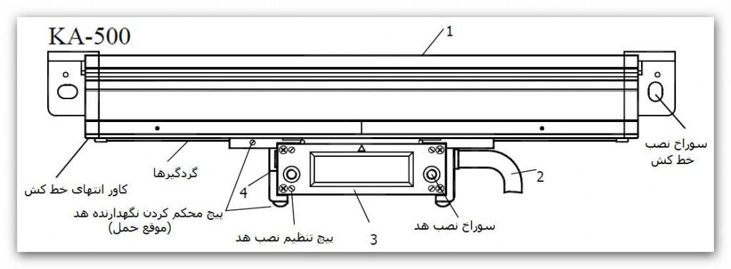 SINO KA500 5 1024x377 - خط کش دیجیتال سینو SINO سری KA500