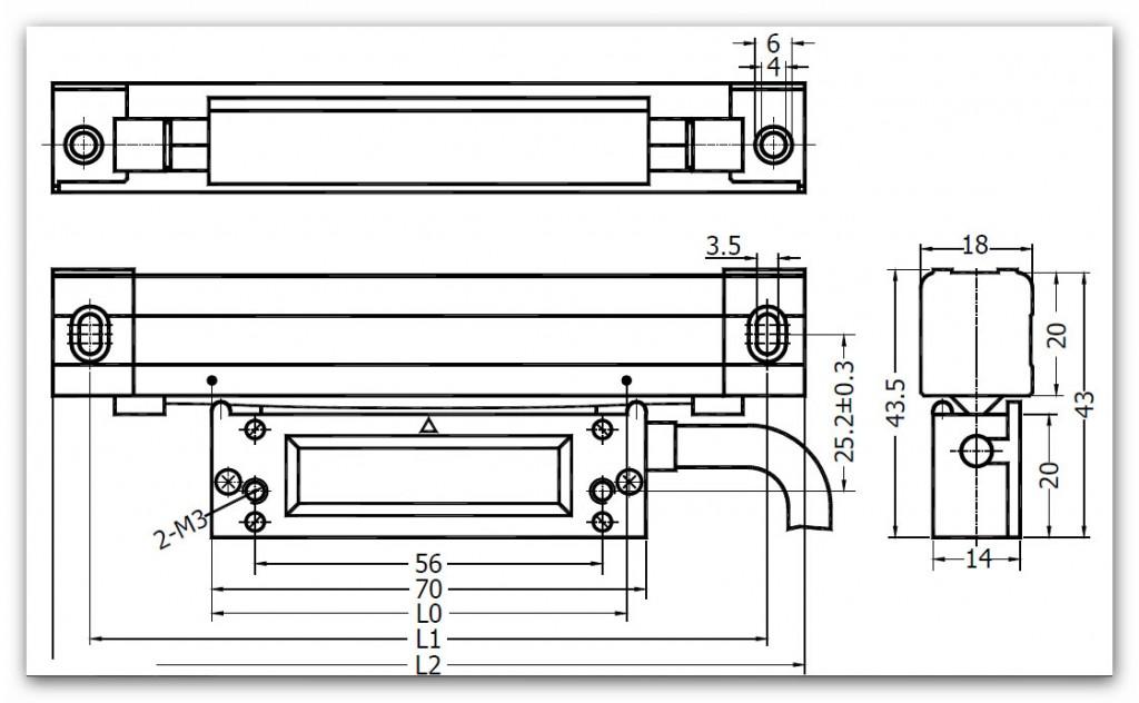 SINO KA500 7 1024x632 - خط کش دیجیتال سینو SINO سری KA500