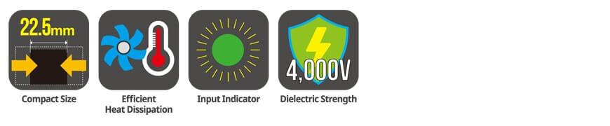 SRC1 Series app 1 - رله های حالت جامد (SSR) آتونیکس سری SRC1