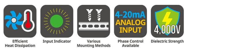 SRPH1 Series app 1 - رله های حالت جامد (SSR) آتونیکس سری SRPH1