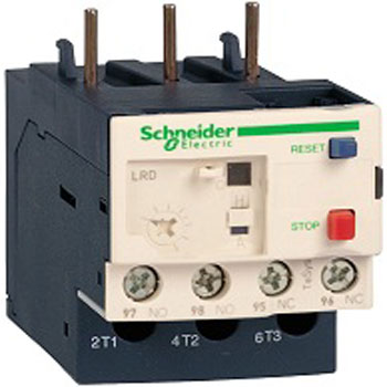 Schneider Bimetal Thermal Overload Relay 1 - بیمتال یا رله ی حرارتی اشنایدر Schneider