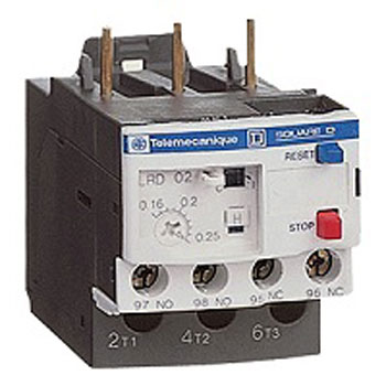 Schneider Bimetal Thermal Overload Relay 2 - بیمتال یا رله ی حرارتی اشنایدر Schneider