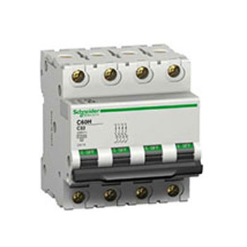 Schneider Miniature Circuit Breaker 4pole - کلید مینیاتوری اشنایدر Schneider