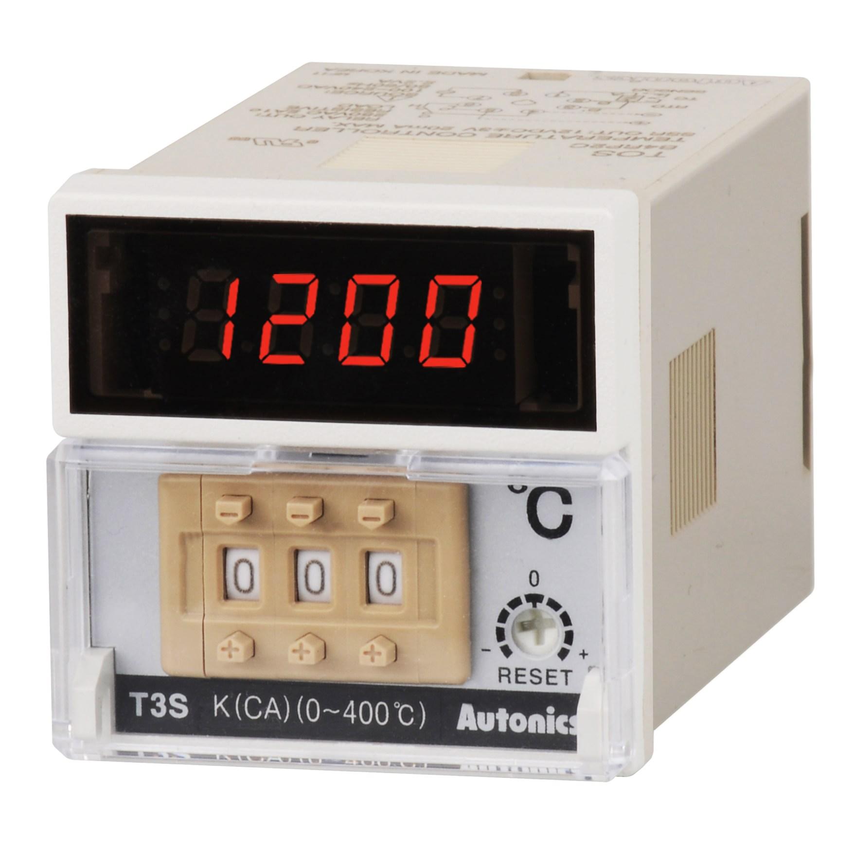 T3S T3H T4M T4L Series - کنترلرهای دما آتونیکس سری T3S/T3H/T4M/T4L