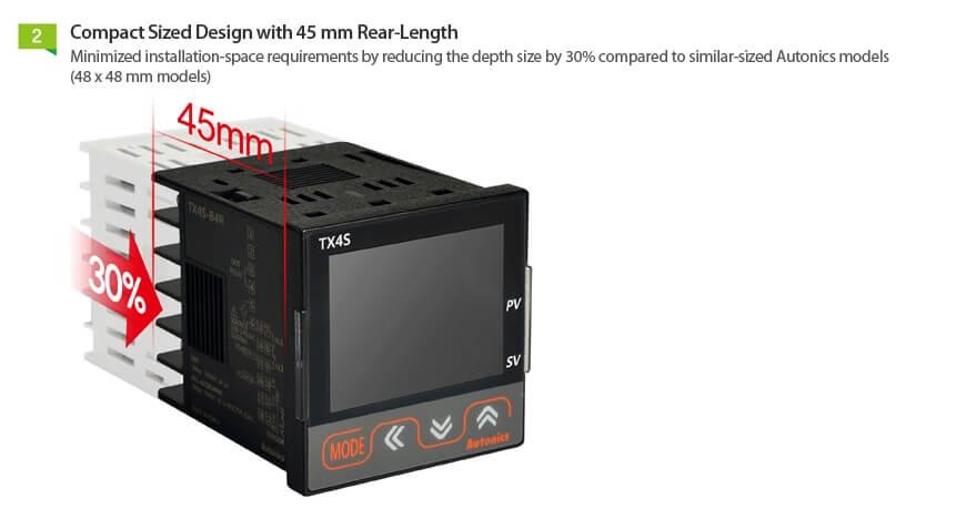 TX Series 3 - کنترلرهای دما آتونیکس سری TX