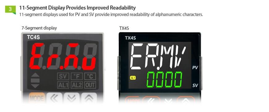 TX Series 4 - کنترلرهای دما آتونیکس سری TX